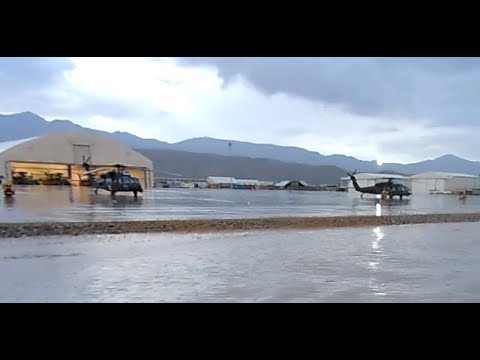 Military Airport flooded in Afghanistan | Part1