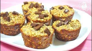 Здоровый завтрак! Банановые кексы с шоколадом!!!!🍌👌👌👌😀