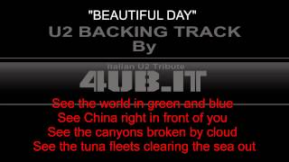 "U2 ""Beautiful Day"" Backing Track 