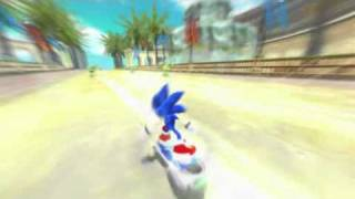 Sonic Free Riders: Kinect - Trailer
