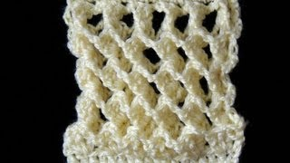 Repeat youtube video Crochet : Punto Tridimensional