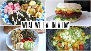 What 4 Vegans Eat!
