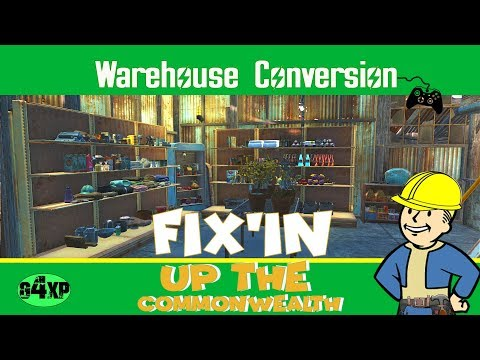 Fix'in up the Commonwealth - Warehouse Conversion