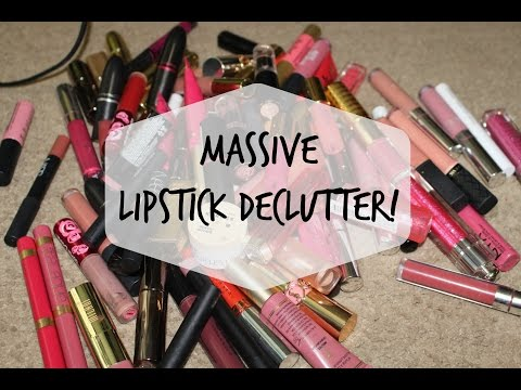 LIPSTICK DECLUTTER | May 2017