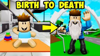 Birth To Death: Officer Roofus! (A ShanePlays Roblox Brookhaven RP)