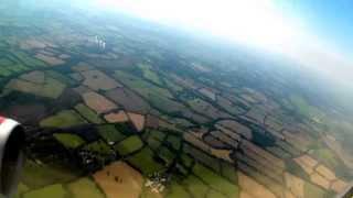 Take off , London Gatwick to Orlando Florida on Virgin Atlantic 747-400