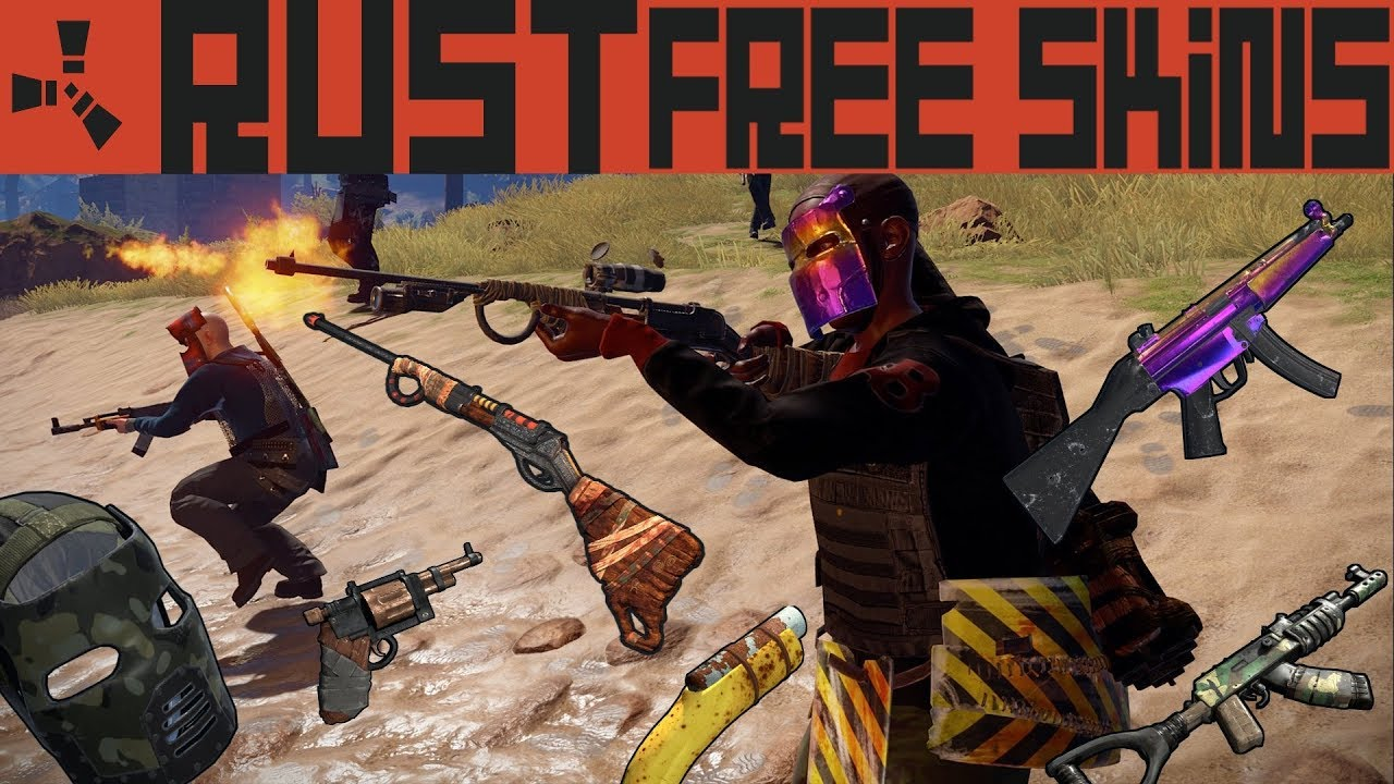 rust how to get free skins