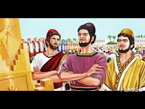 Download Shadrach, Meshach & Abednego Part 1 Bible Stories in Tamil by Fahim Raphael