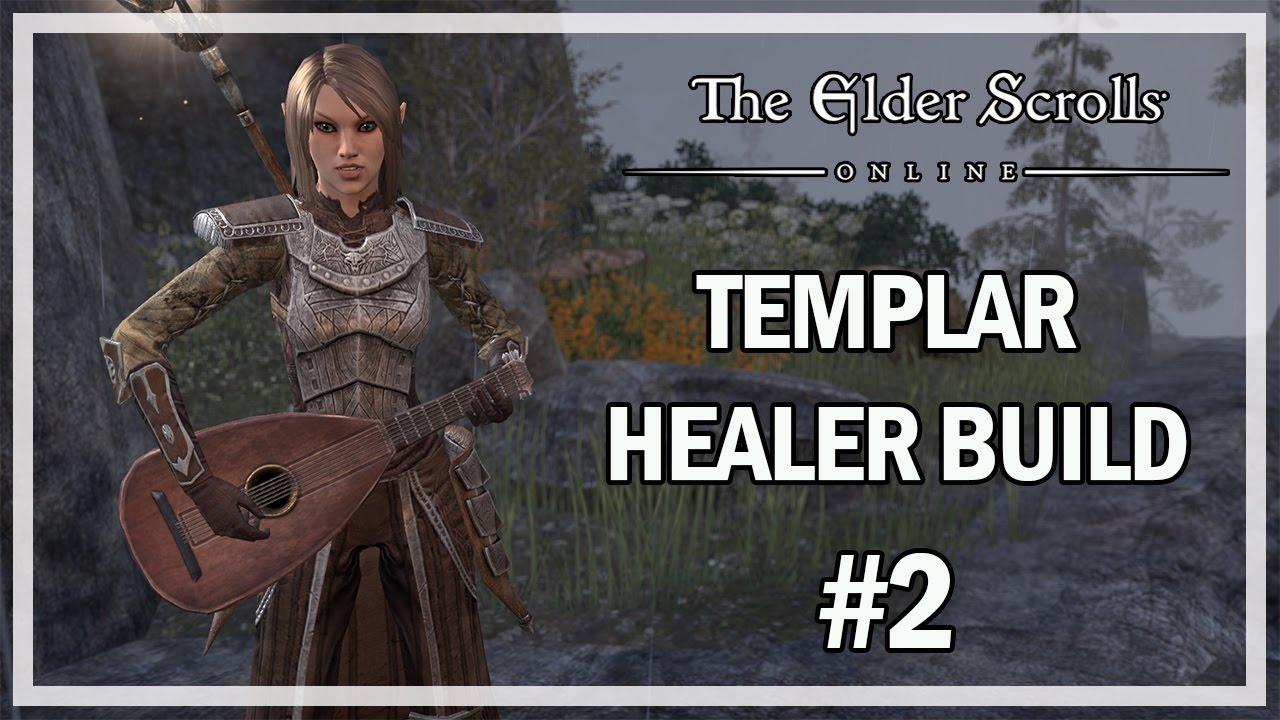 TEMPLAR HEALER BUILD 2 0 - The Elder Scrolls Online Review One Tamriel
