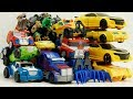 Bumblebee, Grimlock, Optimus Prime Transformers combiner force Rescue Bots Robot truck car toys mp3 indir