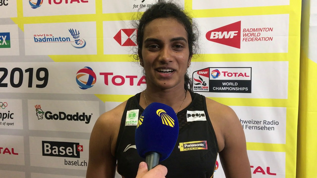 P.V. Sindhu - Comeback kid of the day