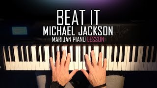 How To Play: Michael Jackson - Beat It | Piano Tutorial Lesson + Sheets