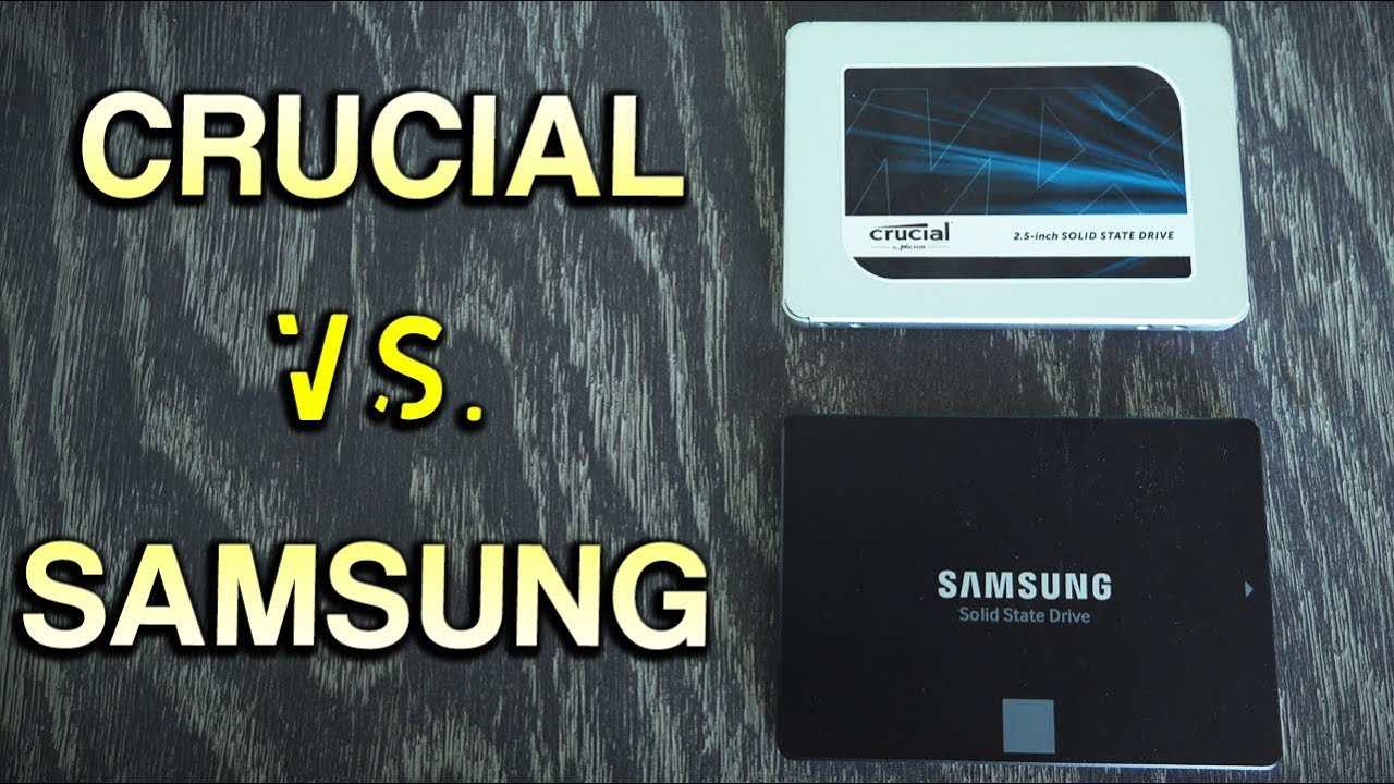 Crucial Mx500 Vs Samsung 860 Evo The Best 2 5 Sata Ssd Of 2018