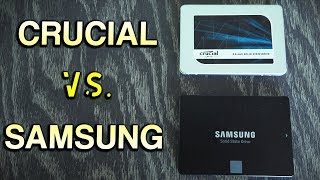 "Crucial MX500 Vs. Samsung 860 Evo - The Best 2.5"" Sata SSD of 2018 is...?"