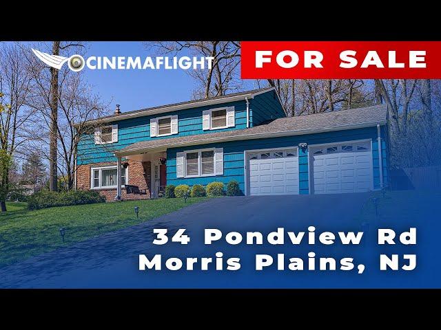 Cinemaflight Property Tours   34 Pondview Rd, Morris Plains, NJ