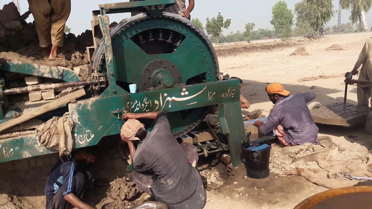Bricks Making Machine - Pakistan