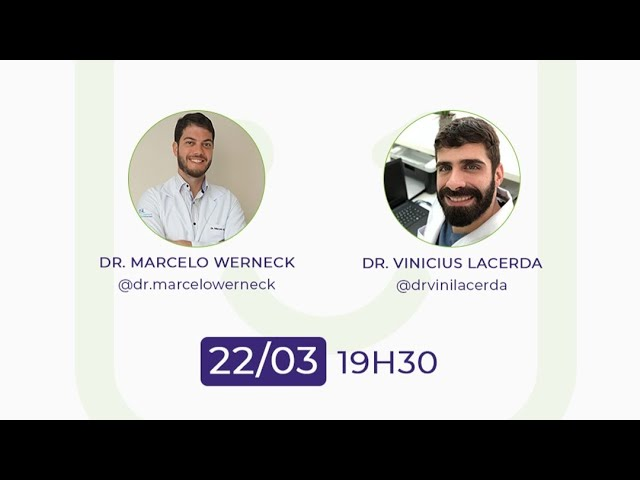 IST e sexo anal - LIVE Dr. Marcelo Werneck e Dr. Vinícius Lacerda.