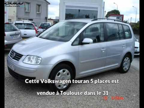 enidec auto pr sente une volkswagen touran 5 places occasion toulouse youtube. Black Bedroom Furniture Sets. Home Design Ideas