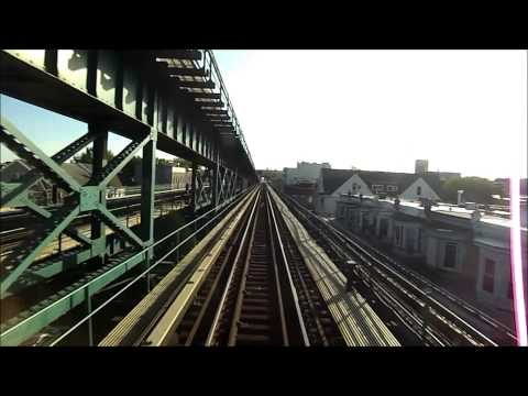 New York City Subway HD EXCLUSIVE: Bombardier R62A 7 Train Roundtrip Railfan (Express and Local)