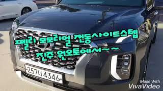 펠리세이드 전동사이드스텝  모모리얼  진주원오토