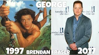 George of the Jungle Then and Now