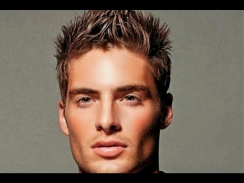 Mens Short Spiky Messy Hairstyles Youtube