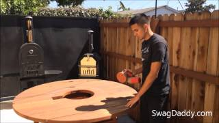 Troops Bbq Redwood Furniture Maintenance - Swagdaddy