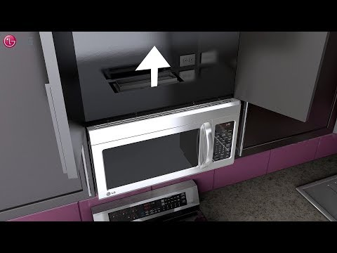 LG OTR Microwave Oven - Installation (2018 Update) - YouTube