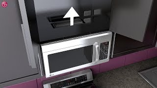LG OTR Microwave Oven - Installation (2018 Update)