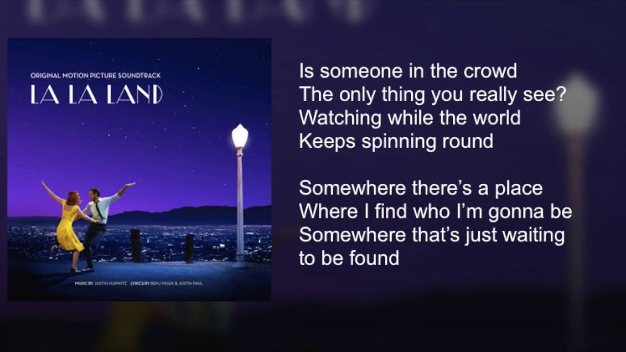 La la land someone in the crowd lyrics youtube stopboris Image collections