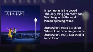 La La Land - Someone in the Crowd - Lyrics thumbnail