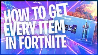 How To Get Every Cosmetic in Fortnite Battle Royale 2019! (Season 9)