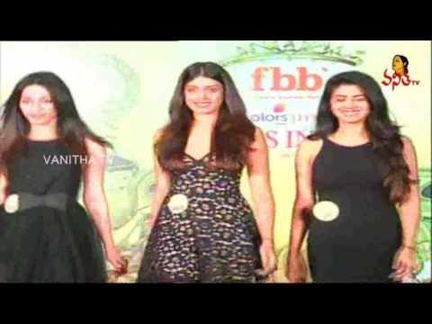 Models at FBB Femina Miss India 2017 Competitions in Vizag    Vanitha TV