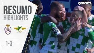 Highlights   Resumo: Feirense 1-3 Moreirense (Liga 18/19 #23)