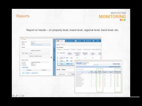 TrustYou Online Reputation Management webinar for InnLink CRS