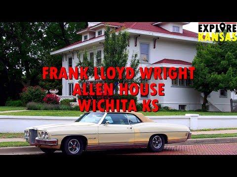 Frank Lloyd Wright Allen House in Wichita KS [Explore Kansas]