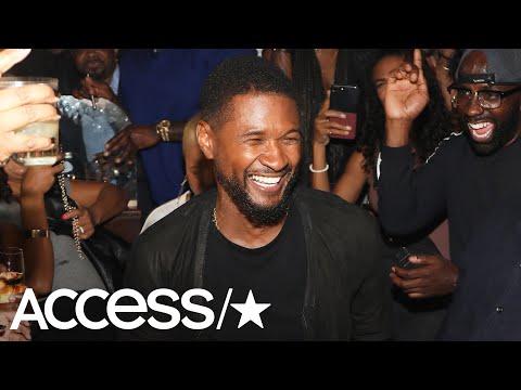 Inside Usher's Star-Studded 40th Birthday Party