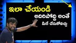 How to install RBG LED Strip Lights on TV  || In Telugu ||