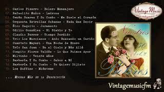 50 Nuestros Boleros - Volumen #2. (Full Album/Álbum Completo) Agustin Lara, Panchos, Trios