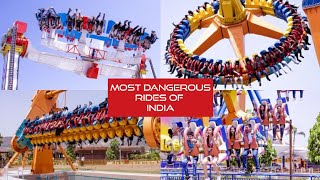 India's most dangerous rides at Magic Mountain|Amusement Park|All Rides Review & Tips|Lonavala