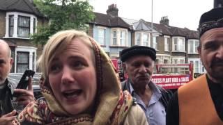 MP stella creasy at leabridge road masjid 19/05/2017