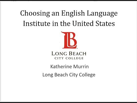 Choosing an English Language Program in the United States