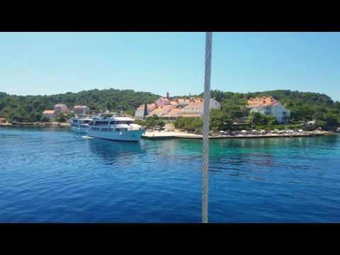 Pomena Harbor at Mljet National Park, Croatia [4K]