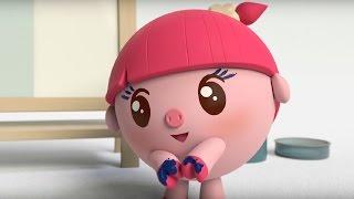 Малышарики - Умные песенки - Квадрат- мультфильм для самых маленьких❤