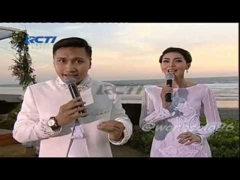 Penampilan Maruli tampubolon & Jessica iskandar Kamulah takdirku Love in Bali Raffi &Nagit