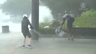 强颱风〝天鸽〞袭港澳 香港1死84伤(澳门_10号风球警报)