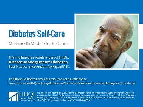 Diabetes Self-Care Patient Module