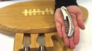 Picnic Time Quarterback Cutting Board