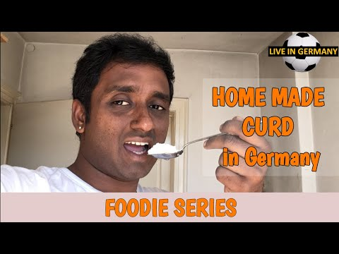home-made-curd-/-dahi-without-starter-in-germany- -dahi-or-curd- -foodie-series