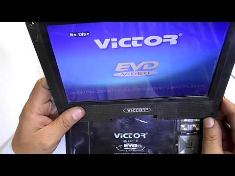 Repair Portable DVD Player Blurry Display Problem  - Clean LVDS Connection